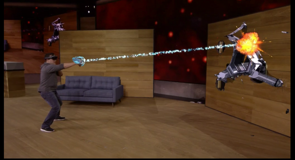 Hololens Wearable Gaming