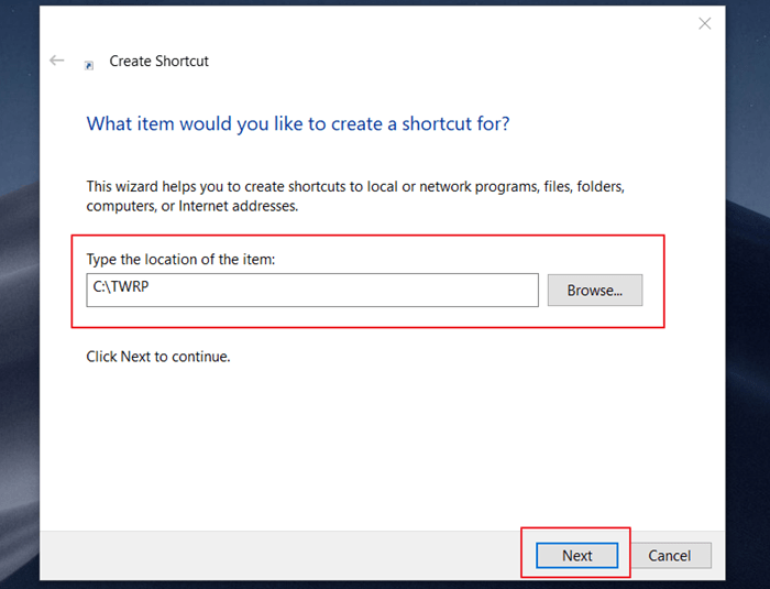 How to Bookmark Folder in Windows 10