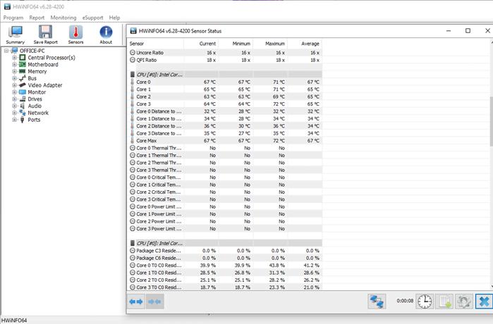 Monitor CPU Temperature in Windows 10