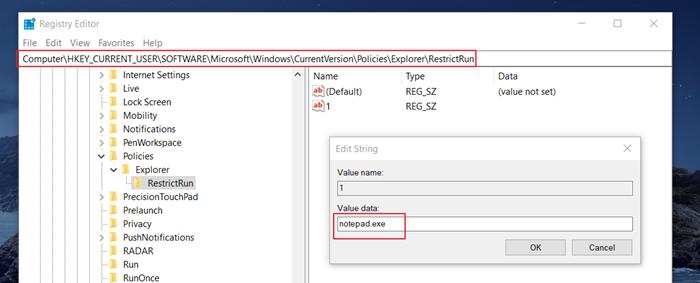 How to Block Certain Programs on Windows 10 - via Windows Registry