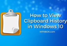 How to View Clipboard History in Windows 10