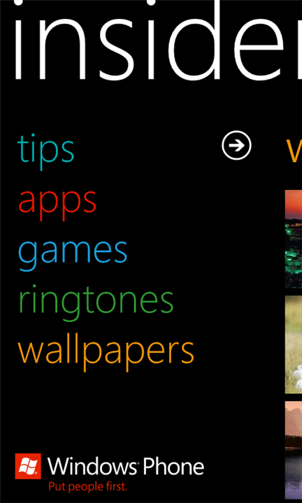 Insider App For Windows Phone