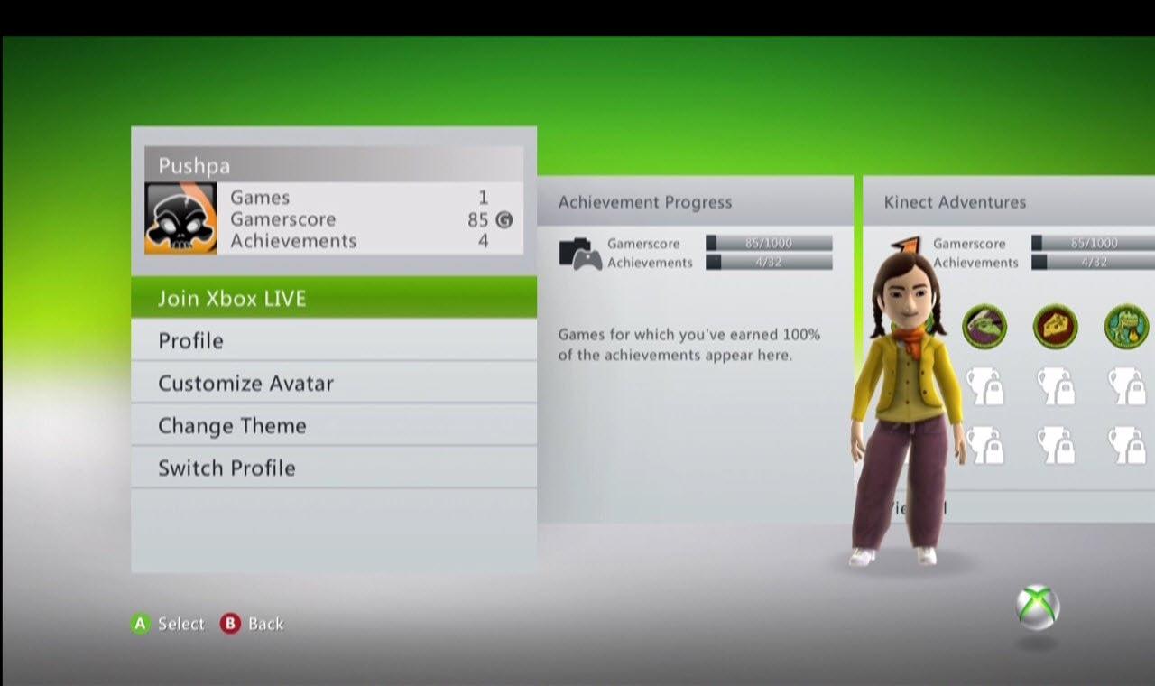 Connect Offline Xbox Profile Xbox Live