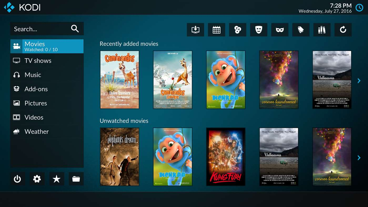 Download Kodi Media Player on Windows 10