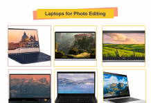 Laptops for Photo Editing