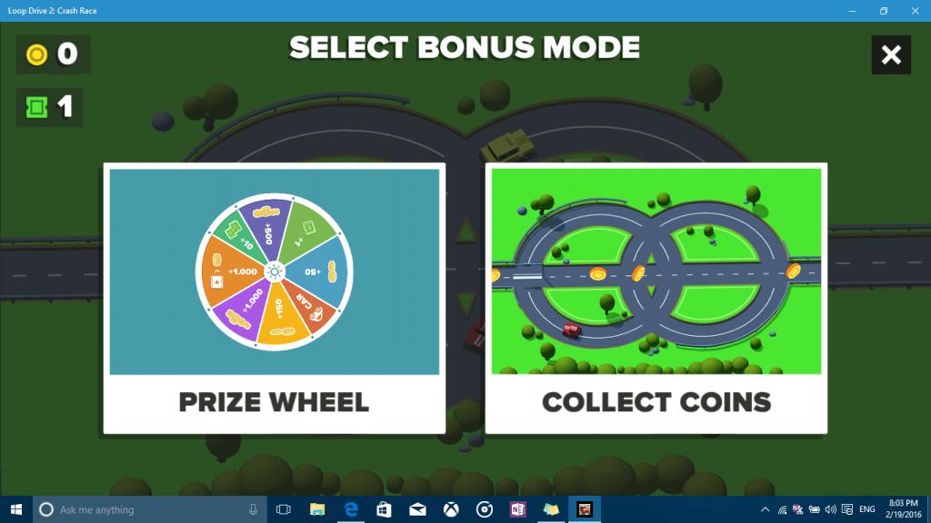 Loop Drive bonus