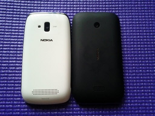 Lumia 510 vs 610 Back