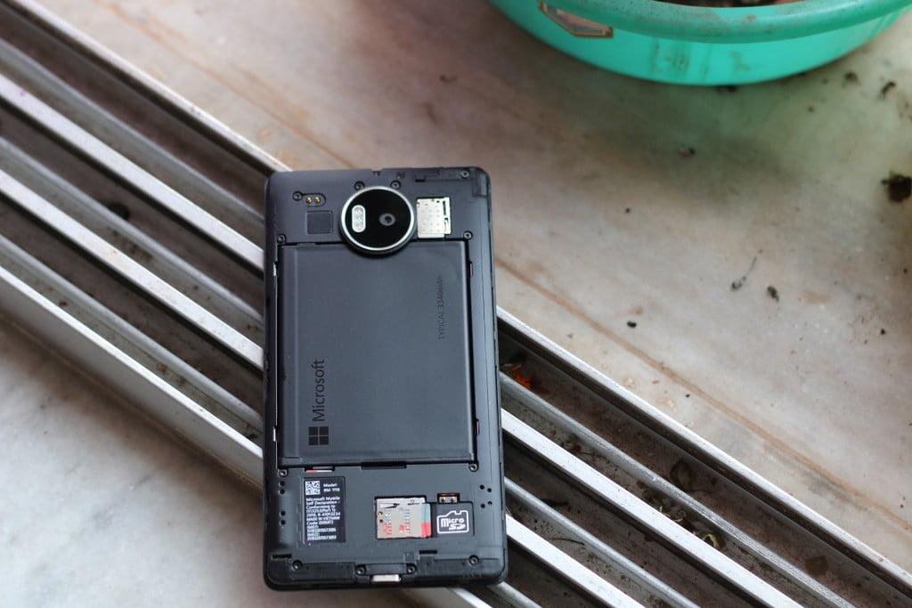 Lumia 950 XL battery