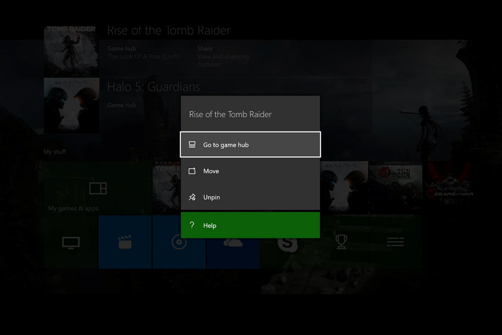 Manage Pins Xbox One (3)