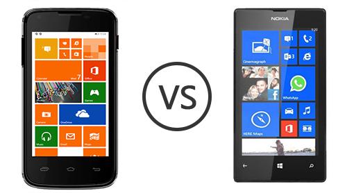 Micromax Canvas Win W092 vs Lumia 525