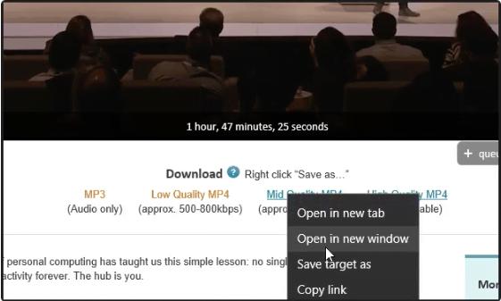 Microsoft Edge Save Online Video