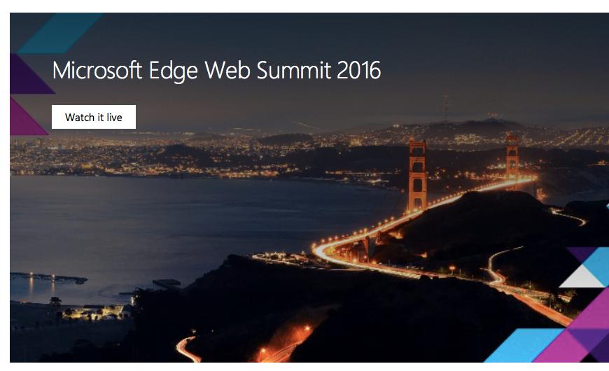 Microsoft Edge Summit