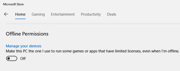 Play Microsoft Store Games Offline