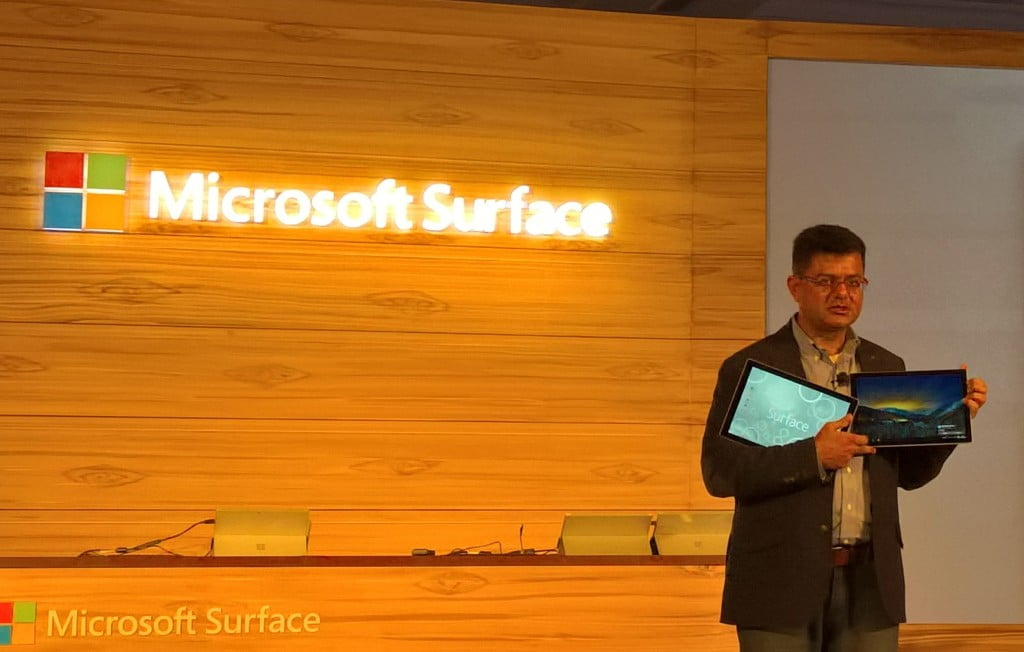 Microsoft Surface Launch India