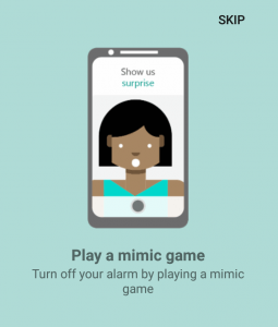 Play a Mimic Game on Alarm