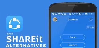 Shareit Xender Alternatives