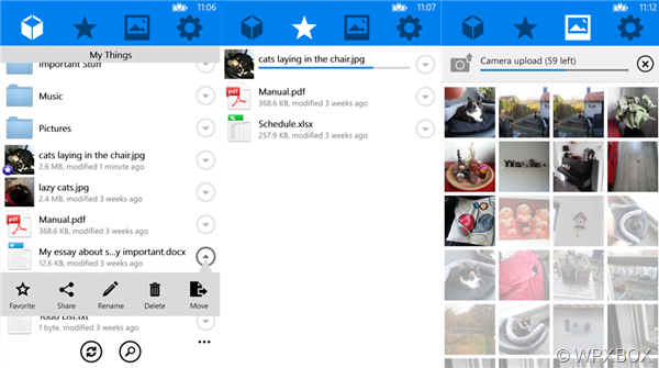 Mybox File Sharing Feature