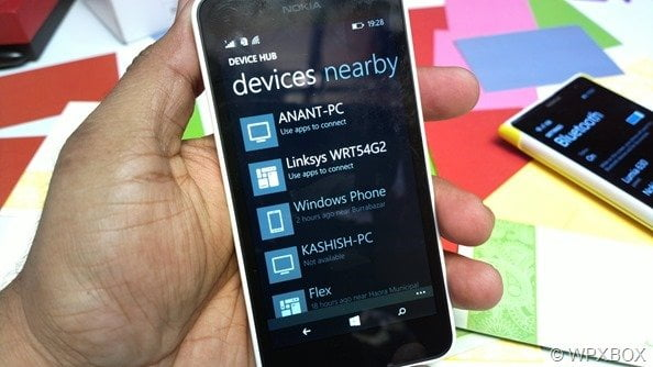 Nearby Devices in Windows Phone 8.1