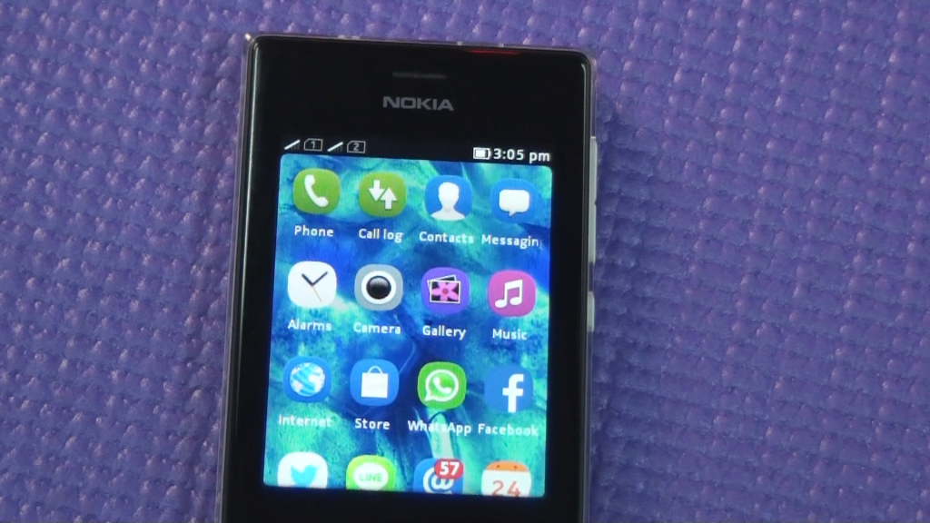 Nokia 503 Display