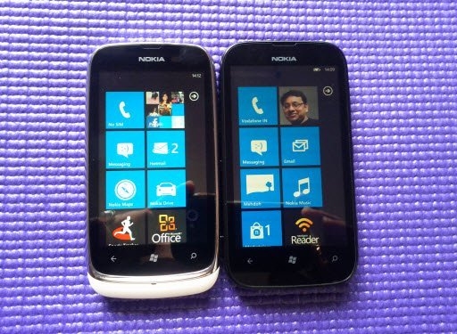 Nokia Lumia 510 vs Lumia 610