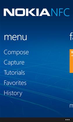 Nokia NFC tag writer