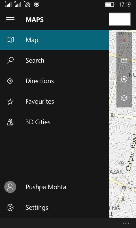 Offline Maps Windows 10 Mobile 6