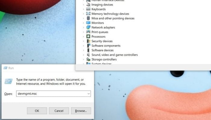 How to Open Device Manager using Run Dialog