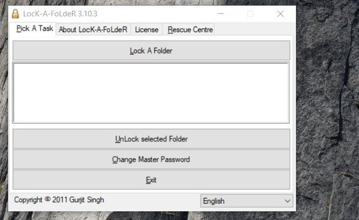 Password Protect Folder File Windows using Folder Lock]