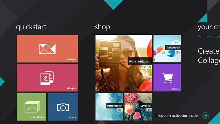 Phototastic App for Windows 10