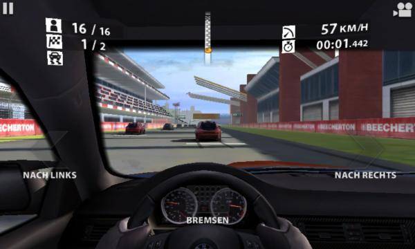 Real Racing 2 Controls