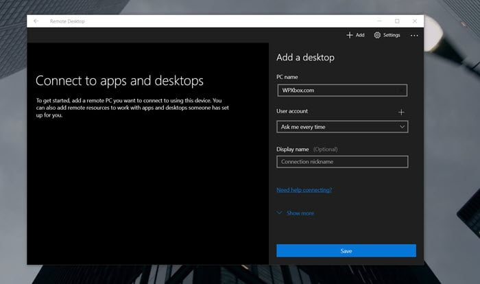 Remote access windows 10 remote desktop client