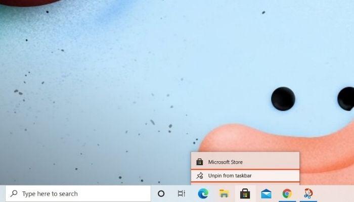 How to Remove Pinned Apps Taskbar Manually
