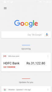Google Now Home