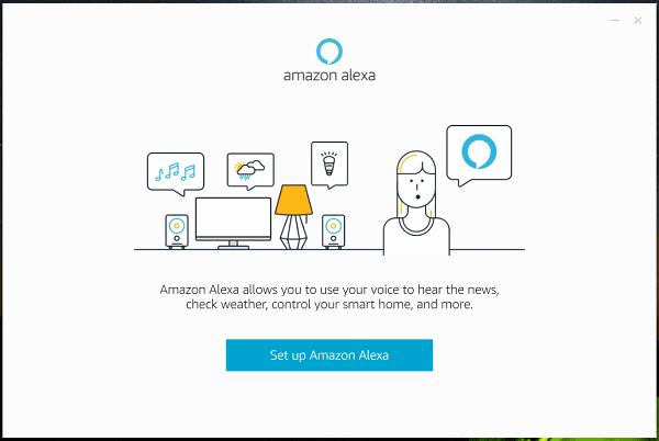 install Amazon Alexa on Windows 10