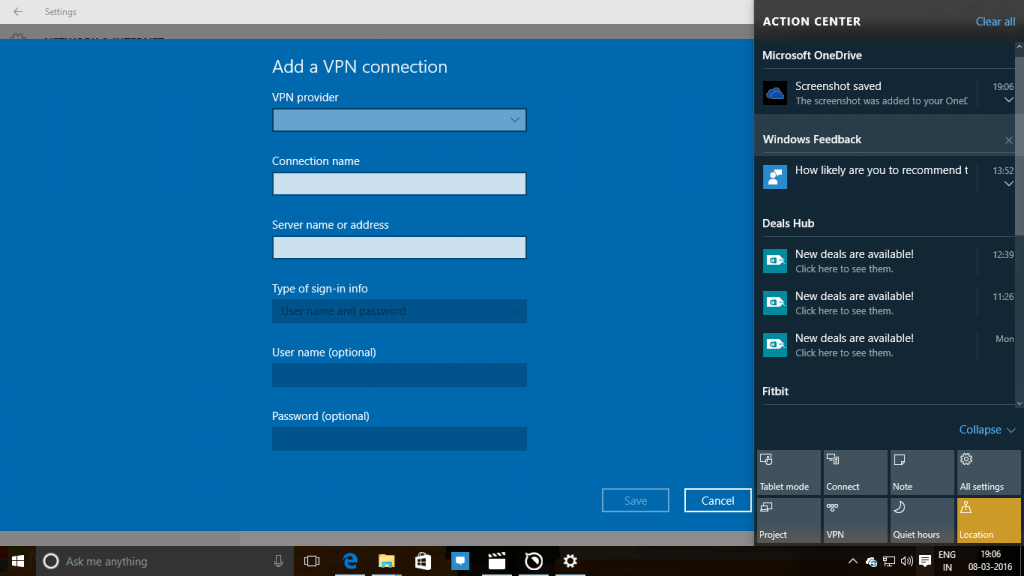 How to Setup VPN on Windows 10 Computer