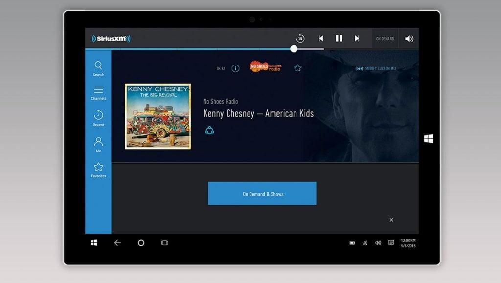 SiruxM Windows 10 App