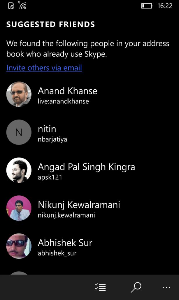 Skype Video App Settings 4