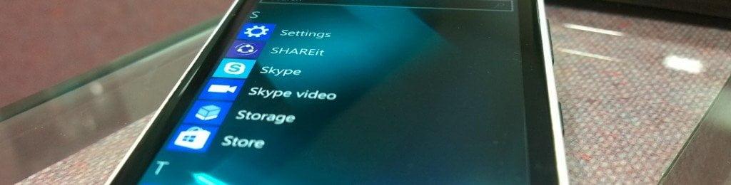 Skype Video App Windows 10 Mobile