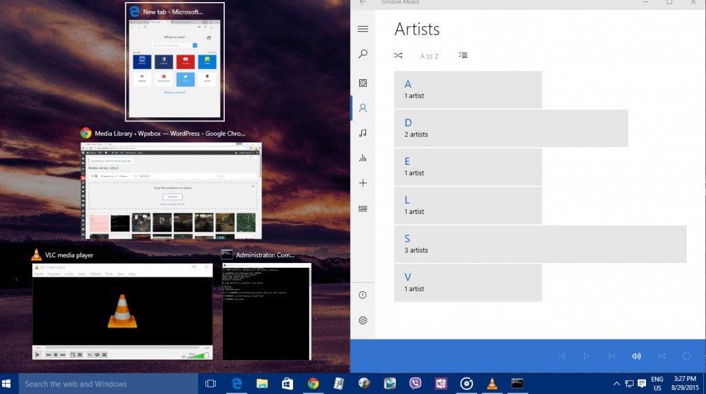 How to Snap & Arrange multiple windows in Windows 10