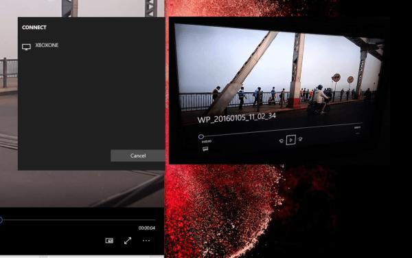 Stream Media Xbox One Windows 10