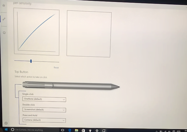 Surface Pen customizability