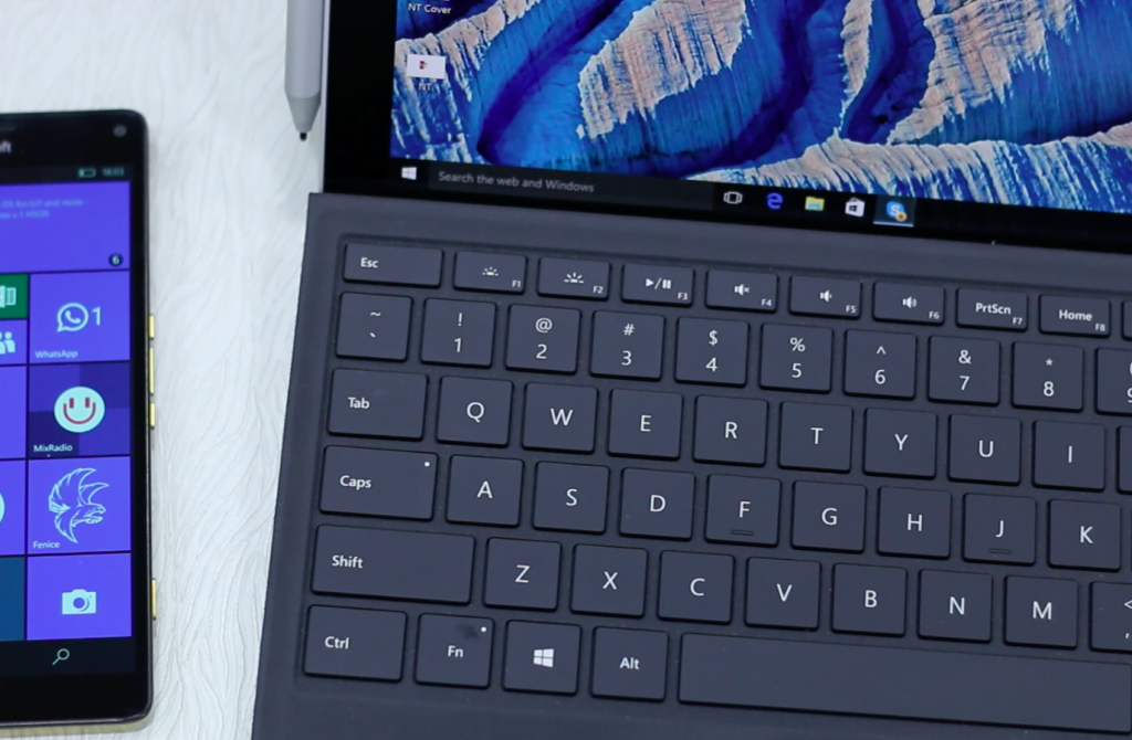 Surface Pro 4 Keyboard Focus