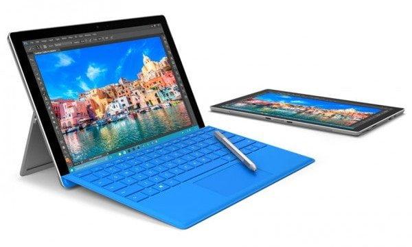 Surface Pro 4 Press