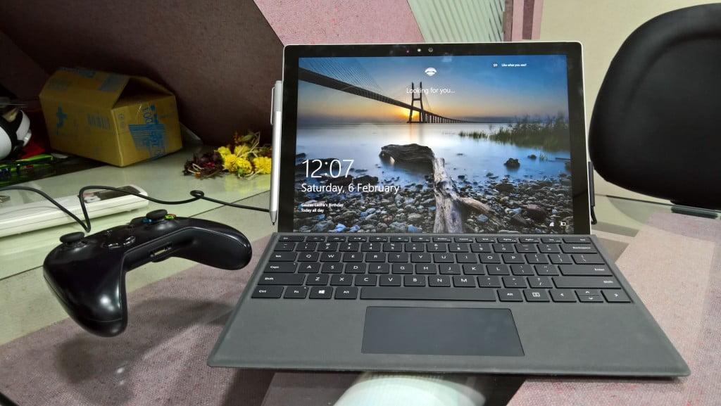 Surface Pro 4 Windows Hello