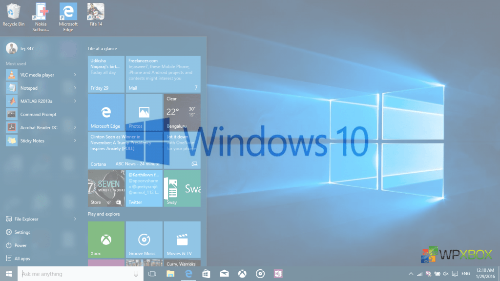 Disable Automatic Updates on Windows 10 PC