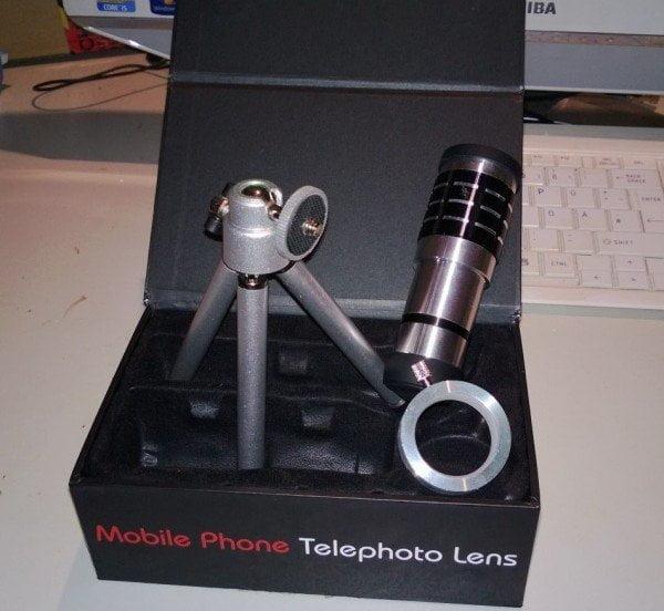 Mobile Phone Telephoto Lens