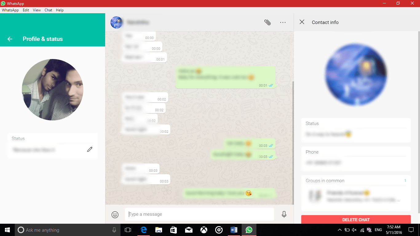 Download WhatsApp Windows 10