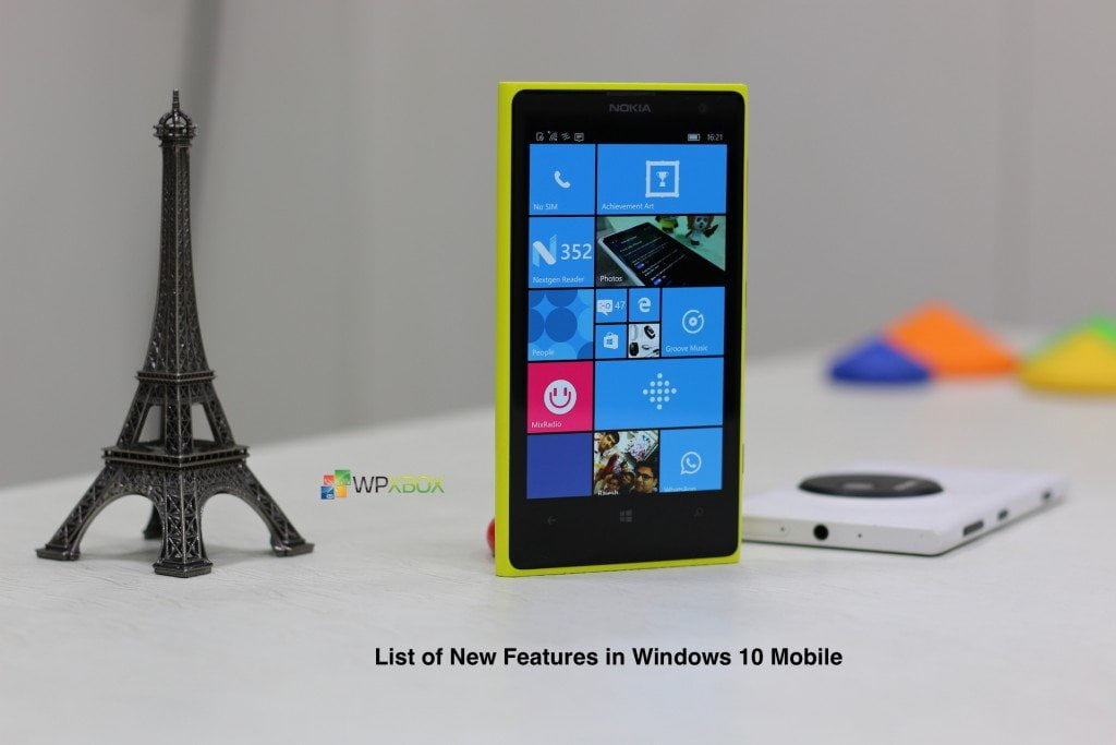 Windows 10 Mobile New Features