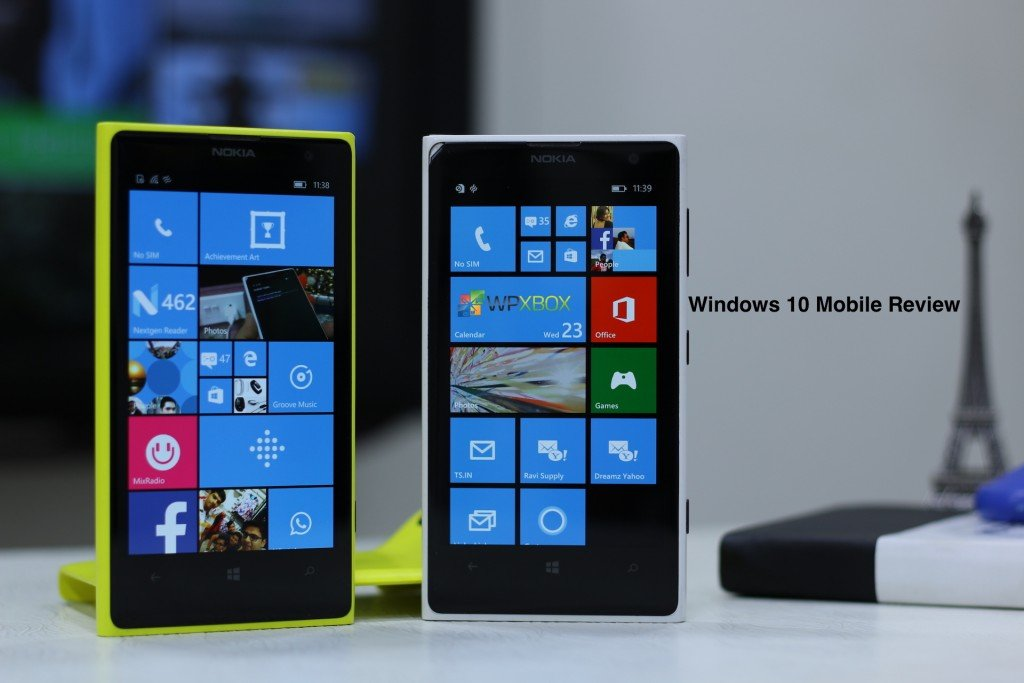 Windows 10 Mobile Review