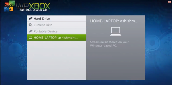 Windows 8 Streaming to Xbox
